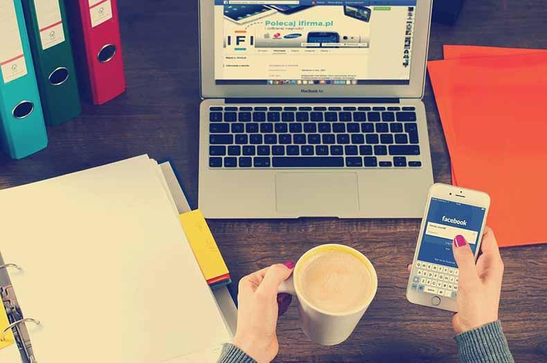 business on social media