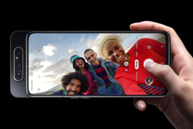 Samsung Galaxy A80 with Rotating Triple Camera's