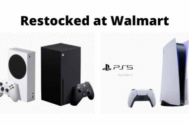 PS5 and Xbox Series X/S will be restocked at Walmart on Thursday